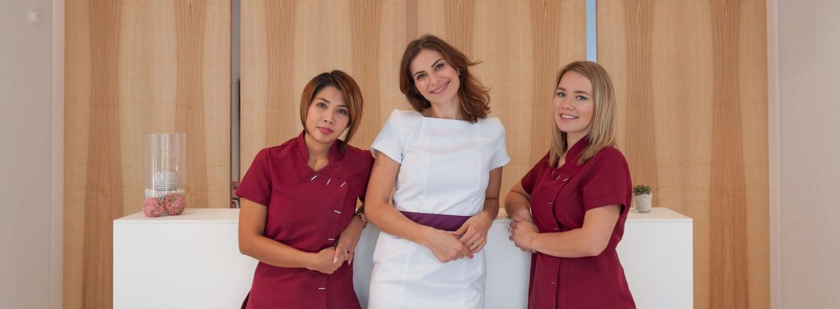 Kosmetiker Team von Mediskin